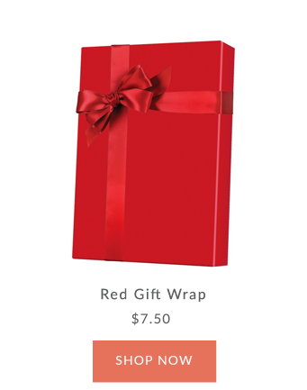 Red Gift Wrap - Innisbrook Wrapping Paper