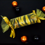 Animal Print Wrapping Paper - Halloween Craft
