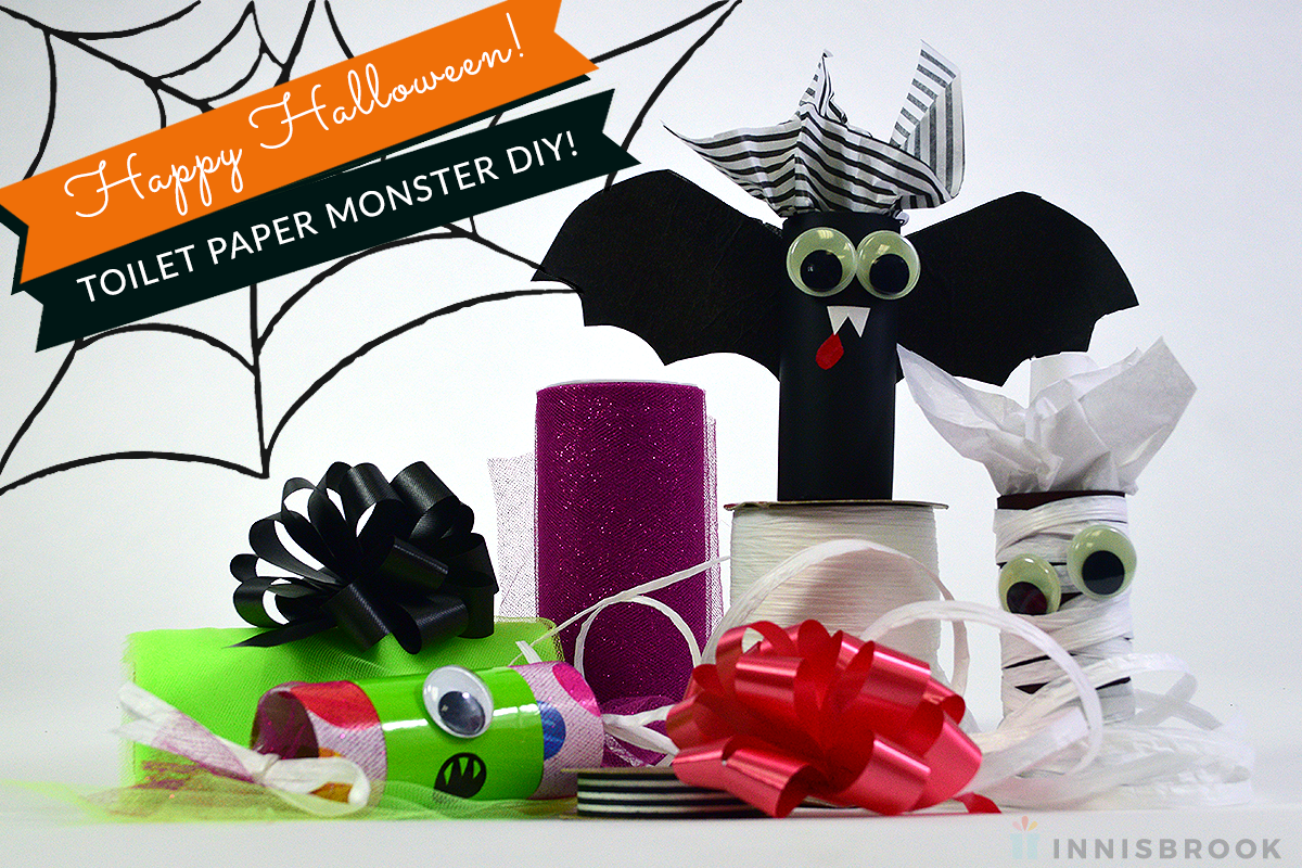 DIY Happy Halloween Accessories Craft