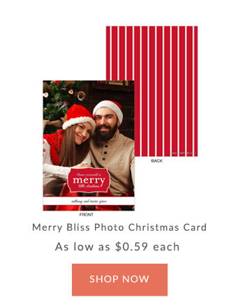 Innisbrook Customized Christmas Photo Cards